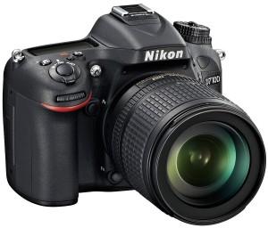 Nikon D7100 front angle