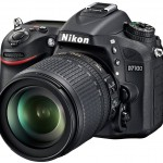 Nikon D7100 front angle left