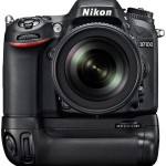 Nikon D7100 with MB-D15 Battery Grip front