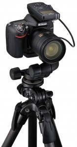 Nikon WR1 on tripod